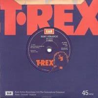 T.REX Telegram Sam Vinyl Record 7 Inch Easy Action 2019 Blue Vinyl